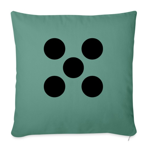 Dado - Cojín de sofá con relleno 44 x 44 cm