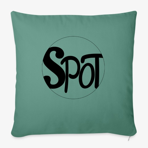 spotCircle Black White - Sofa pillow with filling 45cm x 45cm