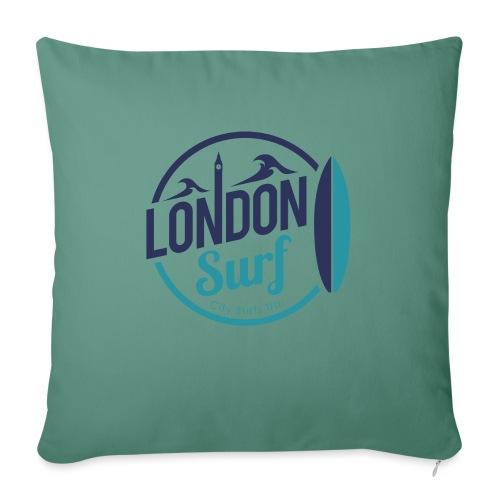 London Surf Classic Logo - Sofa pillow with filling 45cm x 45cm