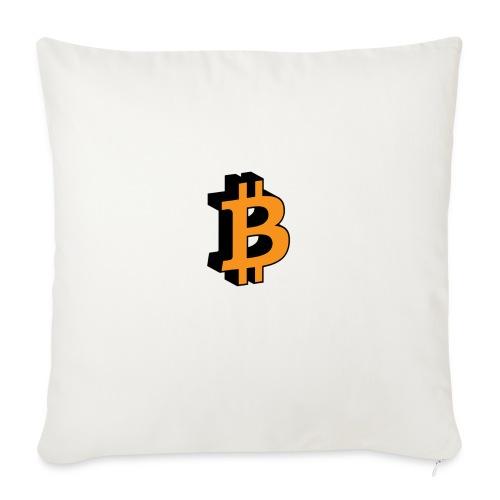 Bitcoin - Sofakissen mit Füllung 44 x 44 cm