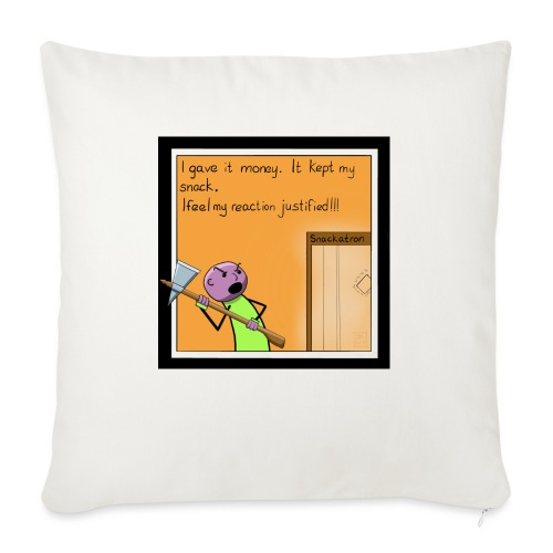 Snack Attack - Sofa pillow with filling 45cm x 45cm