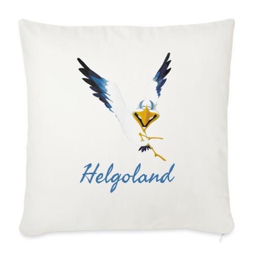 Lachmöwe Helgoland - Sofakissen mit Füllung 44 x 44 cm