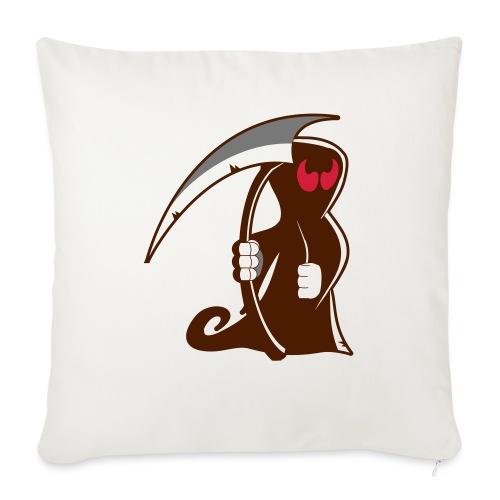 death - Cuscino da divano 44 x 44 cm con riempimento