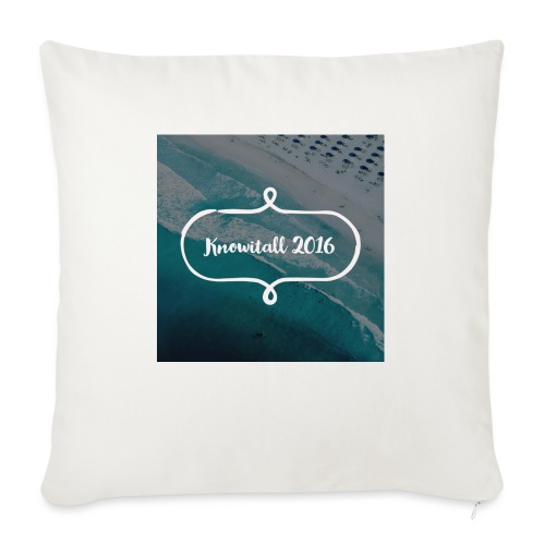 Knowitall 2016 - Sofa pillow with filling 45cm x 45cm