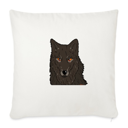 HikingMantis Wolf png - Sofapude med fyld 44 x 44 cm