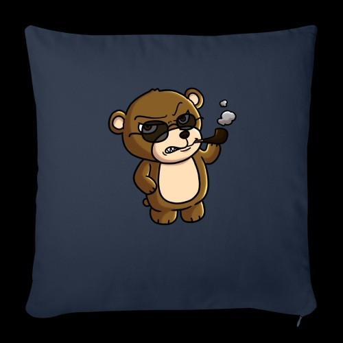 AngryTeddy - Sofa pillow with filling 45cm x 45cm