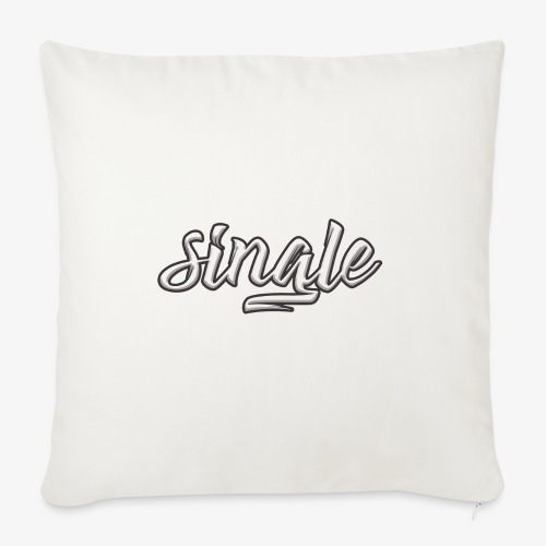 single - Sofa pillow with filling 45cm x 45cm