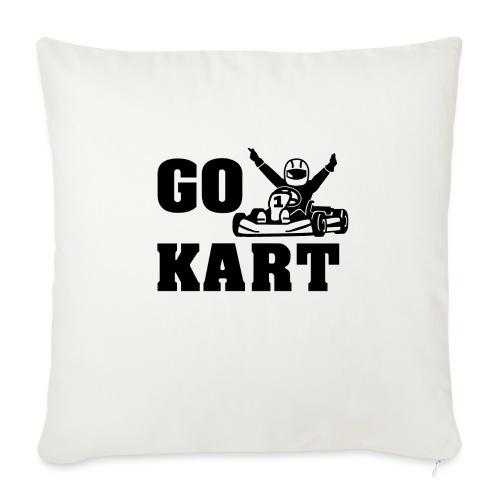 Go kart - Coussin et housse de 45 x 45 cm