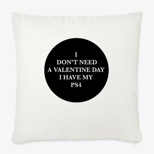 Valentine Day - Love videogame - Cuscino da divano 44 x 44 cm con riempimento