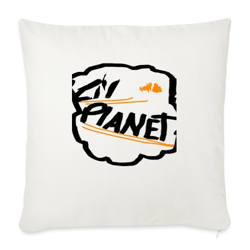 Lil Planet Black Badge Shirt - Sofa pillow with filling 45cm x 45cm