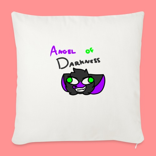 Angel Of Darkness - Sofa pillow with filling 45cm x 45cm