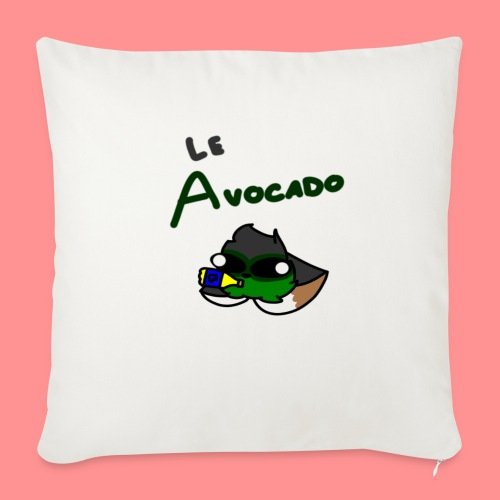 Le Avocado - Sofa pillow with filling 45cm x 45cm