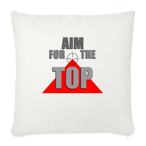 Aim For The Top, by SBDesigns - Coussin et housse de 45 x 45 cm