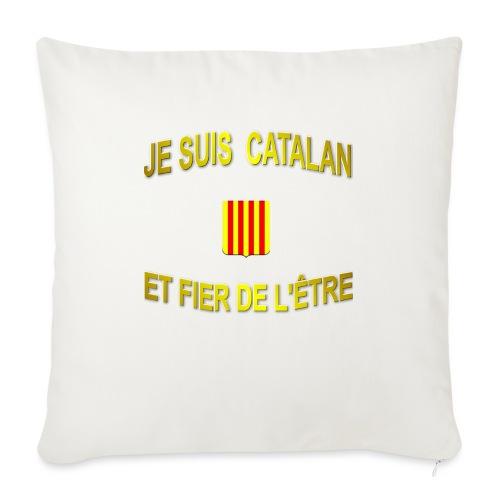 Dessous de verre à l'emblème du PAYS CATALAN - Coussin et housse de 45 x 45 cm
