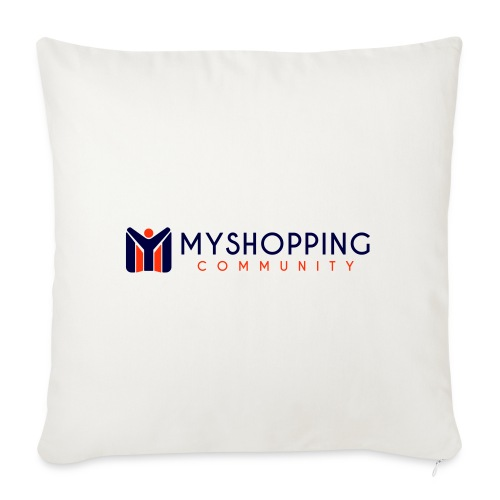 logo MYSC - Cuscino da divano 44 x 44 cm con riempimento