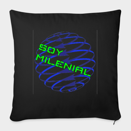 I am Millennial. - Sofa pillow with filling 45cm x 45cm