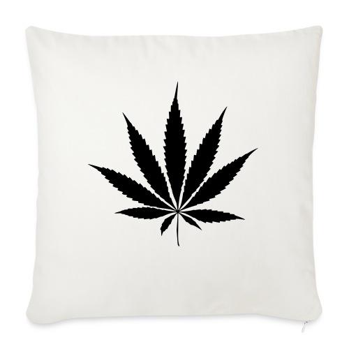 Weedblatt - Sofa pillow with filling 45cm x 45cm