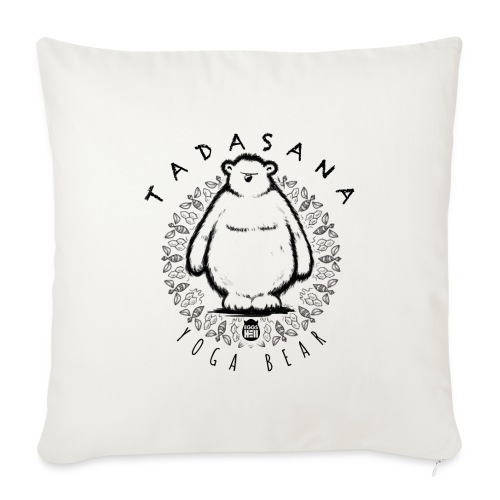 Tadasana by Yoga Bear - Sofa pillow with filling 45cm x 45cm