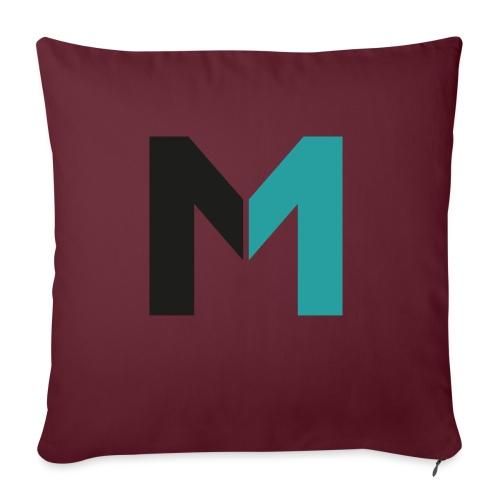 Logo M - Sofakissen mit Füllung 44 x 44 cm