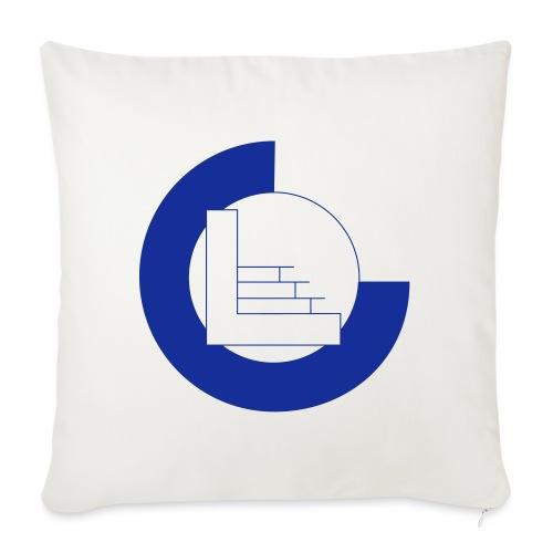 CvL Logo - Bankkussen met vulling 44 x 44 cm