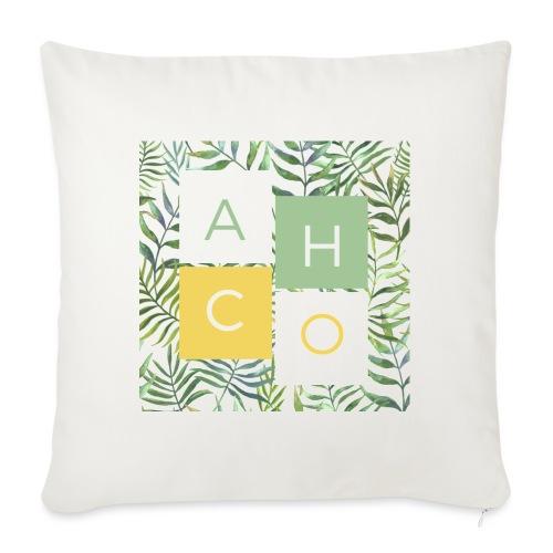 ACHOevents home - Cojín de sofá con relleno 44 x 44 cm