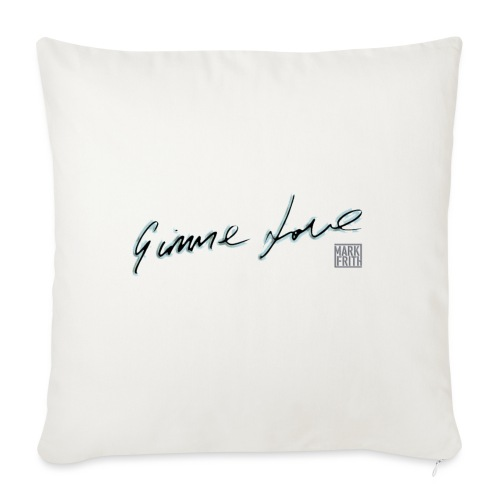 GIMME LOVE range - Sofa pillow with filling 45cm x 45cm