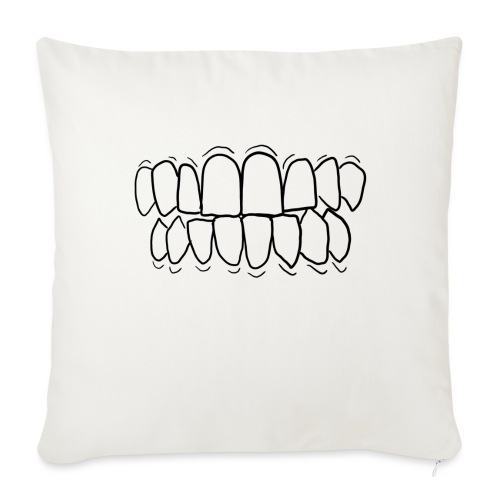 TEETH! - Sofa pillow with filling 45cm x 45cm