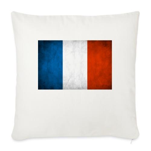 FRANCE - Coussin et housse de 45 x 45 cm