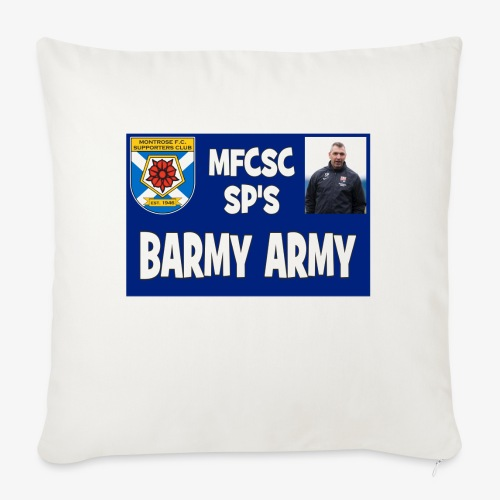 Barmy Army - Sofa pillow with filling 45cm x 45cm