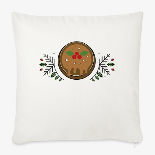 CHRISTMAS PUDDING - Sofa pillow with filling 45cm x 45cm