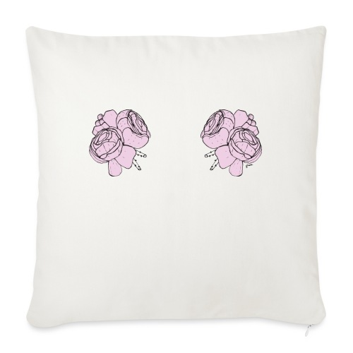 titsflowers - Sofa pillow with filling 45cm x 45cm