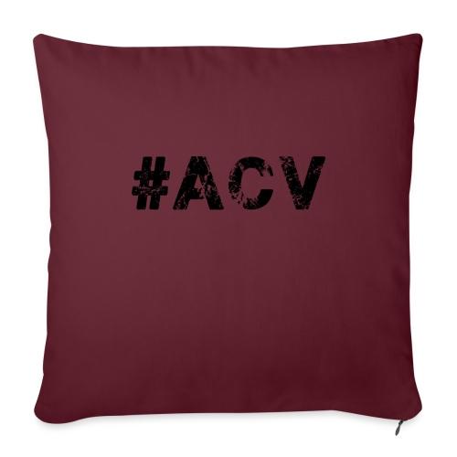 #ACV Logo - Sofakissen mit Füllung 44 x 44 cm