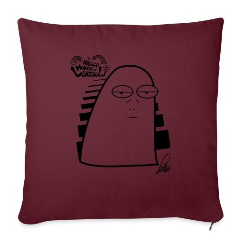 Lenzuolo Pessarotta - Cuscino da divano 44 x 44 cm con riempimento