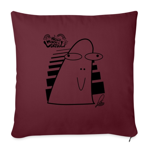 Lino - Cuscino da divano 44 x 44 cm con riempimento