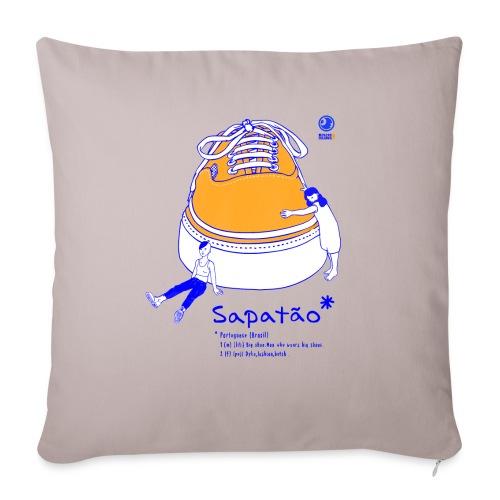 Sapatão - Cojín de sofá con relleno 44 x 44 cm