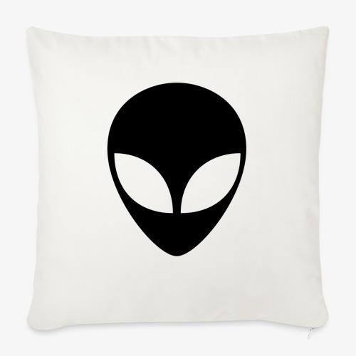Alien Slug - Cuscino da divano 44 x 44 cm con riempimento