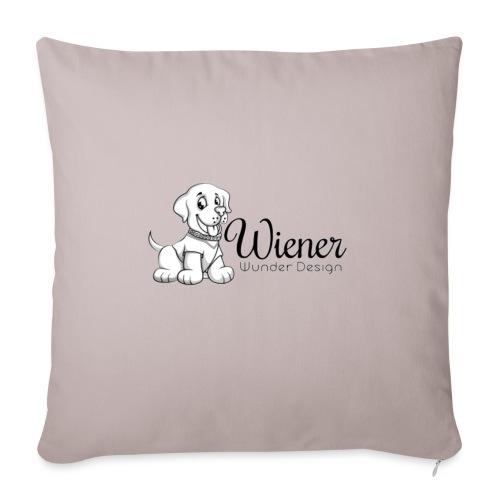 Wiener Wunder Hund - Sofakissen mit Füllung 44 x 44 cm