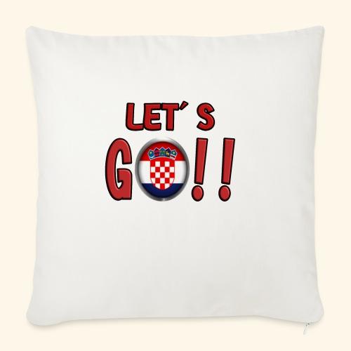 Go Croatia - Cuscino da divano 44 x 44 cm con riempimento