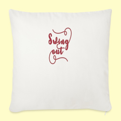 Swing Out Lindy Hop Vintage - Swing Retro - Sofakissen mit Füllung 44 x 44 cm