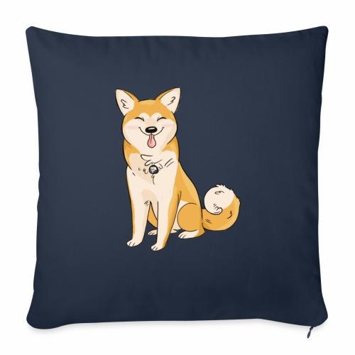 Akita Yuki Logo - Sofa pillow with filling 45cm x 45cm