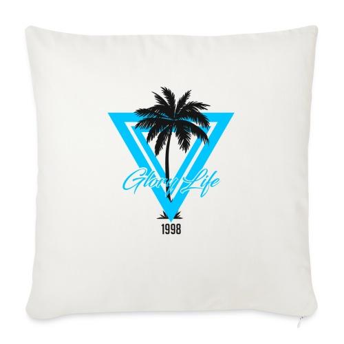 Triangle Palm 1998 - Coussin et housse de 45 x 45 cm