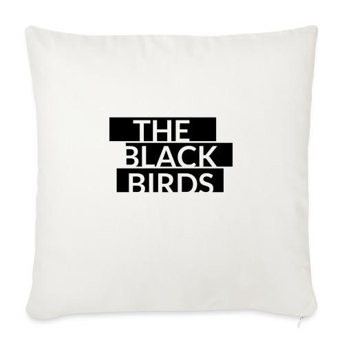 The Black Birds - Cuscino da divano 44 x 44 cm con riempimento