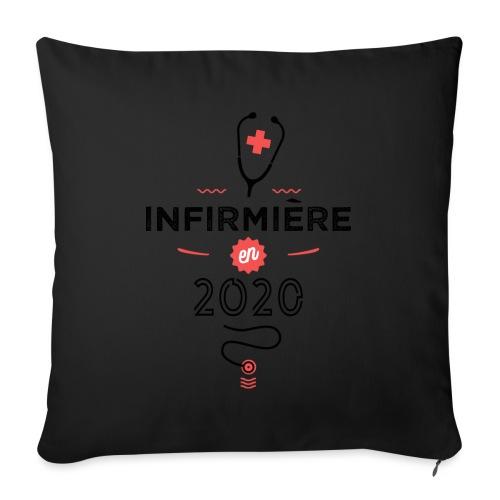 Infirmiere en 2020 - Coussin et housse de 45 x 45 cm