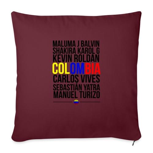 Reggaeton Shirt Kolumbien - Sofakissen mit Füllung 44 x 44 cm