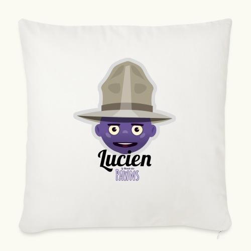 Lucien (Le monde des Pawns) - Coussin et housse de 45 x 45 cm