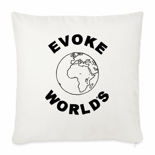 Evoke World's - Sofa pillow with filling 45cm x 45cm