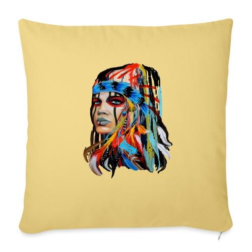 Pióra i pióropusze - Poduszka na kanapę z wkładem 44 x 44 cm