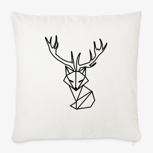white foxy - Poduszka na kanapę z wkładem 44 x 44 cm