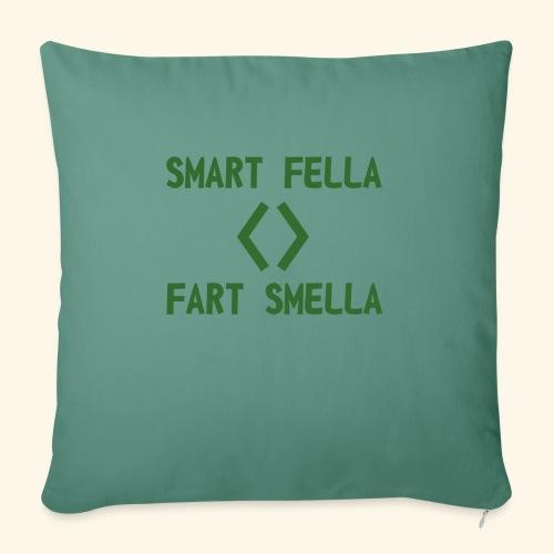 Smart fella - Cuscino da divano 44 x 44 cm con riempimento