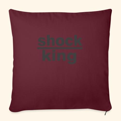 shock king funny - Cuscino da divano 44 x 44 cm con riempimento